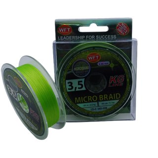 WFT Micro Braid KG Chartreuse 150 m