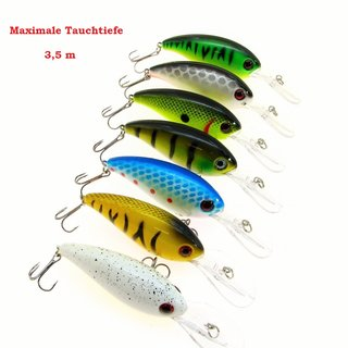 Dssg Stocky Wobbler 10 cm  16 gr. Floating