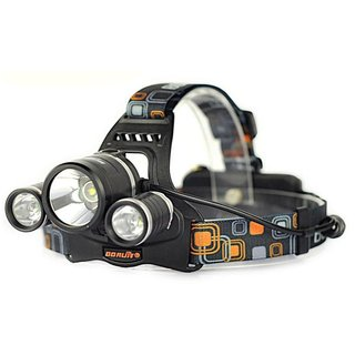 Jobo High Power Headlamp 1000 Lumens T6+XPE LED
