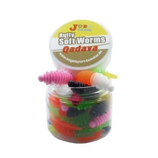 Ruffy Quadava Trout Worms Two Colors 58 mm
