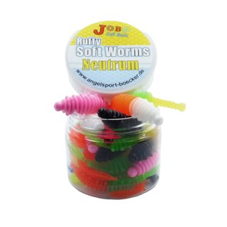 Ruffy Neutrum Trout Worms Two Colors 58 mm